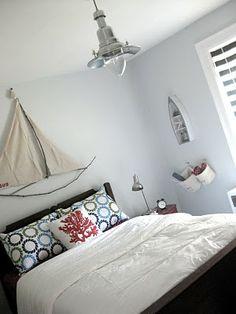 Nautical-Inspired Bedroom
