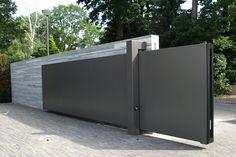 Selecting a Fence - Fence Ideas - Home Gate Design, Front Gate Design, Main Gate Design, Facade Design, Door Design, House Design, Steel Gate Design, Front Gates, Entrance Gates