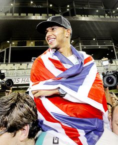 "Joy for Lewis and joy to all his many many fans! "" Lewis Hamilton 