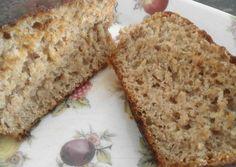 Pan de molde de espelta, avena y miel