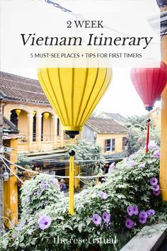 Discover the must-see destinations plus tips on what to do in Vietnam for first-timers in this 2 week Vietnam itinerary. Backpacking India, Backpacking South America, Slow Travel, Asia Travel, Budget Travel, Vietnam Travel Guide, Adventurous Things To Do, Tourism Day, Visit Vietnam