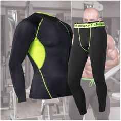 Cheap running set, Buy Quality running set men directly from China men running set Suppliers: 2017 Men Sportswear Running Sets Sports Suit Tights Basketball Jerseys Mens Breathable Long Tracksuit Jogging Gym Sport Kit Warm Pants, Long Johns, Basketball Jersey, Latest Street Fashion, Long Pants, Mens Fitness, A Team, Sportswear, Tights