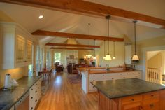 Craftsman Cottage: Open Living Spaces - traditional - kitchen - other metro - Richard Taylor Architects
