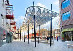 ONE City Plaza   Greenville, South Carolina   Civitas photo-by-Fish-Eye-Studios #landscape #architecture #public #space #plaza #architecture #art