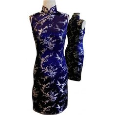 #dress #cheongsam #chipao #ready to wear  #fashion  Custom Made Plum Blossoms Pattern Chinese Dress Cheongsam