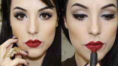 Maquiagem Coringa e Fácil para usar com Batom Escuro