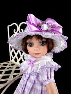 "Dress, Shoes, fit Tonner Patsy, Ann Estelle, 10"" doll. *LittleCharmersDollDesign"