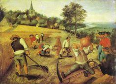 Pieter Brueghel, the Younger (1564-1638). Summer. Museum of Fine Arts, Budapest.