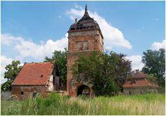Rittergut Beitzsch (Biecz) bei Forst in der polnischen Niederlausitz
