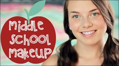 MIDDLE SCHOOL MAKEUP + GIVEAWAY!  In this video i show you the perfect makeup for middle school and a giveaway!