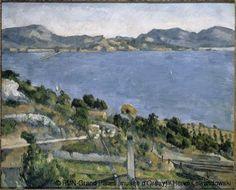 Paul Cézanne,El golfo de Marsella visto desde el Estaque,1879. Museo de Orsay,Paris.
