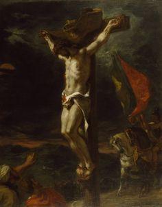 Eugène Delacroix - Christ sur la Croix (1846)
