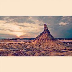 Impresionante imagen de Castildetierra, gracias a @spainviaggio en Instagram. Así es #Navarra...