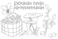 Arktiset aromit - Syötävän hyvät väritystehtävät Teaching Aids, Teaching Kindergarten, Fall Crafts, Crafts For Kids, Arts And Crafts, Environmental Studies, Bible Pictures, Colouring Pics, Early Education