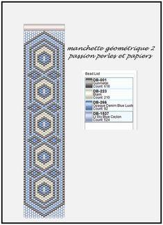 off loom beading Peyote Stitch Patterns, Bead Loom Patterns, Jewelry Patterns, Bracelet Patterns, Beading Patterns, Loom Bracelets, Motifs Perler, Brick Stitch Earrings, Bracelets