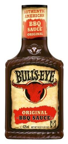 Grillsauce Bulls-Eye BBQ Original, Dosierflasche, 2er Pack (2 x 425 ml)