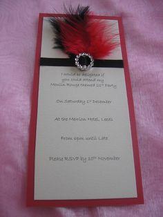 6 meses - bodas de pluminhas - Convite lindo