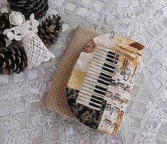 Peňaženky - Hudba...organizér na karty - 6117567_