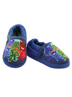 Kids Boys New Slip On Juniors Moccasin Fleece Lined Winter Warm Slippers Shoes
