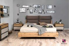 Κρεβατοκάμαρα FLEX. Ελληνικής Κατασκευής. Η κρεβατοκάμαρα Flex είναι ένα μοντέλο κατασκευασμένο από ξύλο ρουστίκ και σε συνδυασμό με την διχρωμία στην λάκα μας χαρίζει ένα ωραίο αισθητικό αποτέλεσμα. Υλικά κατασκευής: Ξύλο ρουστίκ σε συνδυασμό με γκοφρέ λάκα.