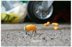 Slinkachu - Little People Project