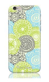 iPhone 6 iPhone 6s Case SS Sand Dollar Flower Cool Design Hard Phone Case | www.nucecases.com | #apple #iphone #nucecases