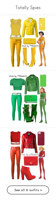 """""""Totally Spies"""" by rheebavn ❤ liked on Polyvore featuring dVb Victoria Beckham, Pinko, S.W.O.R.D., Christian Louboutin, Lauren Merkin, Marc by Marc Jacobs, Jonathan Adler, Topshop, Ganni and MICHAEL Michael Kors"""