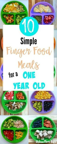 Meal ideas for one year olds simple meal ideas simple meals and 10 simple finger food meals for a one year old forumfinder Images