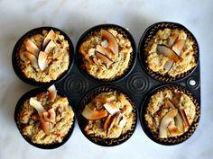 Gluten-Free Carrot-Coconut Muffins