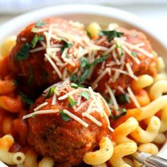 Instant Pot Meatballs--Pressure cooker meatballs are tender. Serve over pasta and sprinkle with parmesan cheese. Use ground turkey, beef or pork.