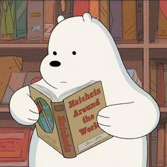 Awkward We Bare Bears Screencaps — He read Bear Wallpaper, Disney Wallpaper, Iphone Wallpaper, Ice Bear We Bare Bears, We Bear, Cartoon Profile Pics, Cartoon Profile Pictures, Cartoon Icons, Bear Cartoon