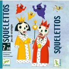 Jouer et découvrir #78 – Squelettos de Djeco (Dès 7 ans)