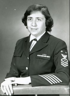 The first female Master Chief Petty Officer in the United States Navy, Anna Der-Vartanian.