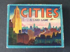 Cities, a card game from 1945