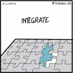 Today's #viztober is >Integrate< #inktober #skribeforward #sketchnote #sketchnotes #inktobergermany #vizthink #visualthinking #sketchnoting #illustration #visualnotes #notetaking #drawing Positive Energie, Workshop, Sketch Notes, Note Taking, Inktober, Integrity, Kids Rugs, Drawings, Illustration