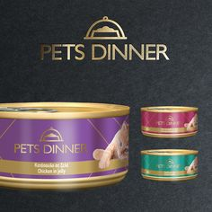 Pets Dinner on Packaging of the World - Creative Package Design Gallery