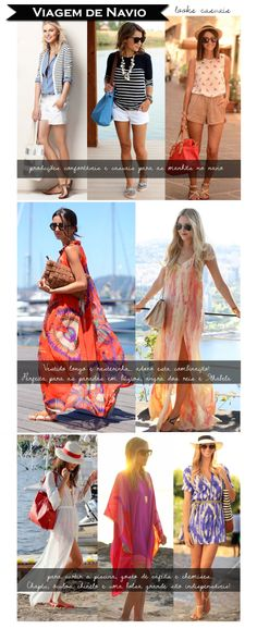 trip outfit - casual looks - relax - basic - long dress - beach outfit - cruise outfit