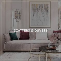 Scatter cushions can transform a room by offering up a bright or patterned focal point. Plus, they add much-needed soft furnishings to ensure your room is homely. We have the right scatter cushion to pull your chosen look together with ease.  Browse our range of indoor or outdoor scatter cushions.  #interiordesign #homedecor #decor Scatter Cushions, Soft Furnishings, Duvet, Range, Indoor, Couch, Bright, Interior Design, Pattern