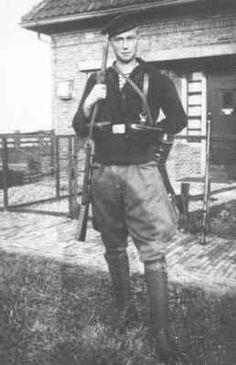Matroos Willemsen tijdens de mobilitatie van 1939