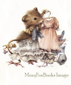 Vera the Mouse (Vera de Muis), a children's book written & illustrated by Marjolein Bastin, an artist from the Netherlands.