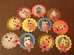 """Free Shipping""  Hand Crafted embellished  Owl Price Tags by HaileyHarrison on Etsy.  Random lot of 12 only ... $3.99.  Additional qty and themes available upon request."