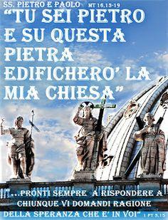 PAROLA Anno Liturgico B: SANTI PIETRO E PAOLO
