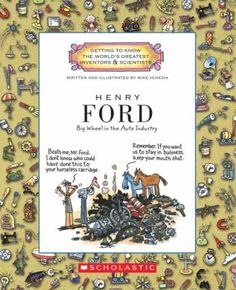 Henry Ford, by Mike Venezia