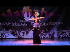 Sharon Kihara Tribal Fusion @ Marhaba Belly Dance Festival Rome 2012, opening gala