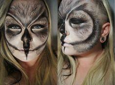 Self-drawn owl by Blanche Makeup graduate Carla Malchuk