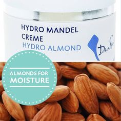 Hydro Mandel Creme Ideale bescherming voor de droge huid tijdens de wintermaanden. Beschermt tegen schadelijke invloeden van buiten af. Bevat Amandelolie die het vochtgehalte herstelt en de veeleisende huid beschermt tegen uitdrogen.  Druivenpitolie verzacht de huid en voorkomt schilfervorming. Deze heerlijke verzachtende crème geeft de huid een onzichtbaar beschermlaagje.