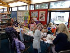 Families made clay models of their Superhero at Duston Library.