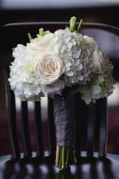 Ivory wedding bouquet