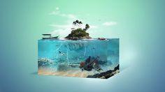 Aquarium on Behance