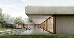 New school in Tenero-Contra, Switzerland. Project by LOPES BRENNA ARCHITETTI